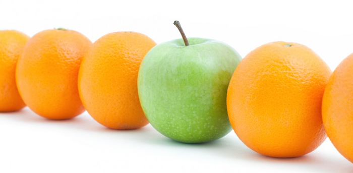 How to compare apples and oranges ? : Part II
