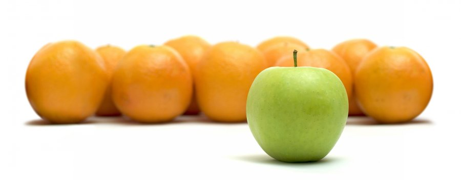 How to compare apples and oranges ? : Part III