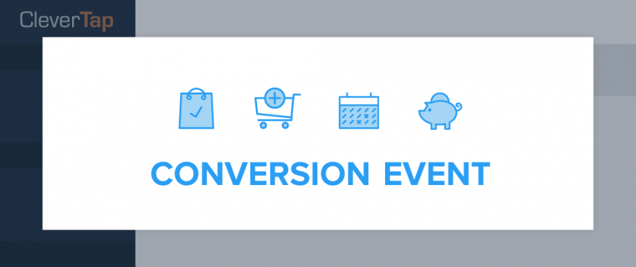 Per user conversion events