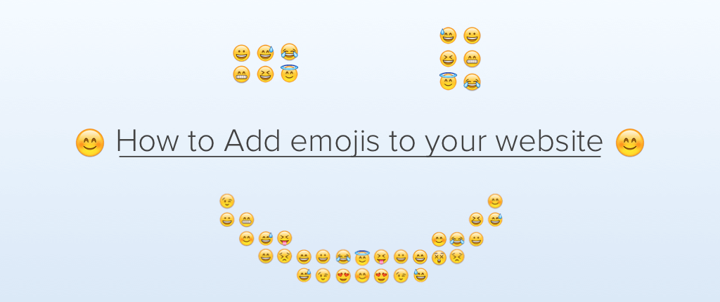 How to Add Emojis to Your Website | CleverTap