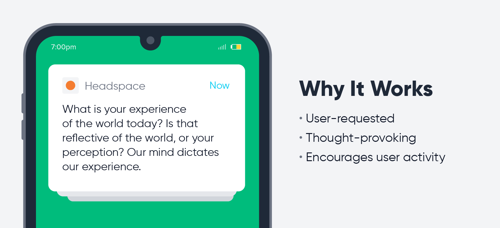 Headspace - push notification best practices