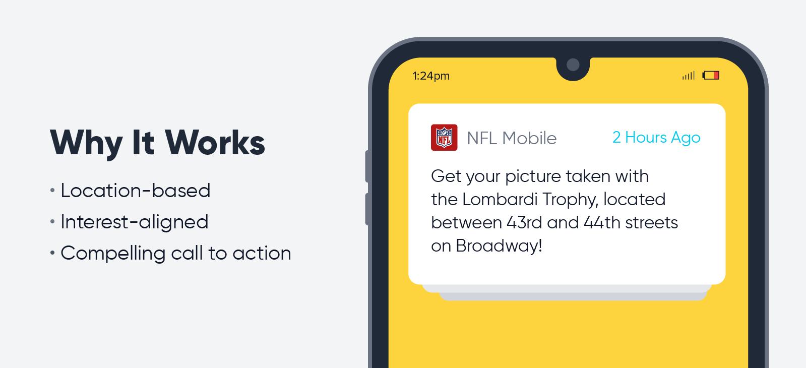 NFL Mobile - push notification best practices