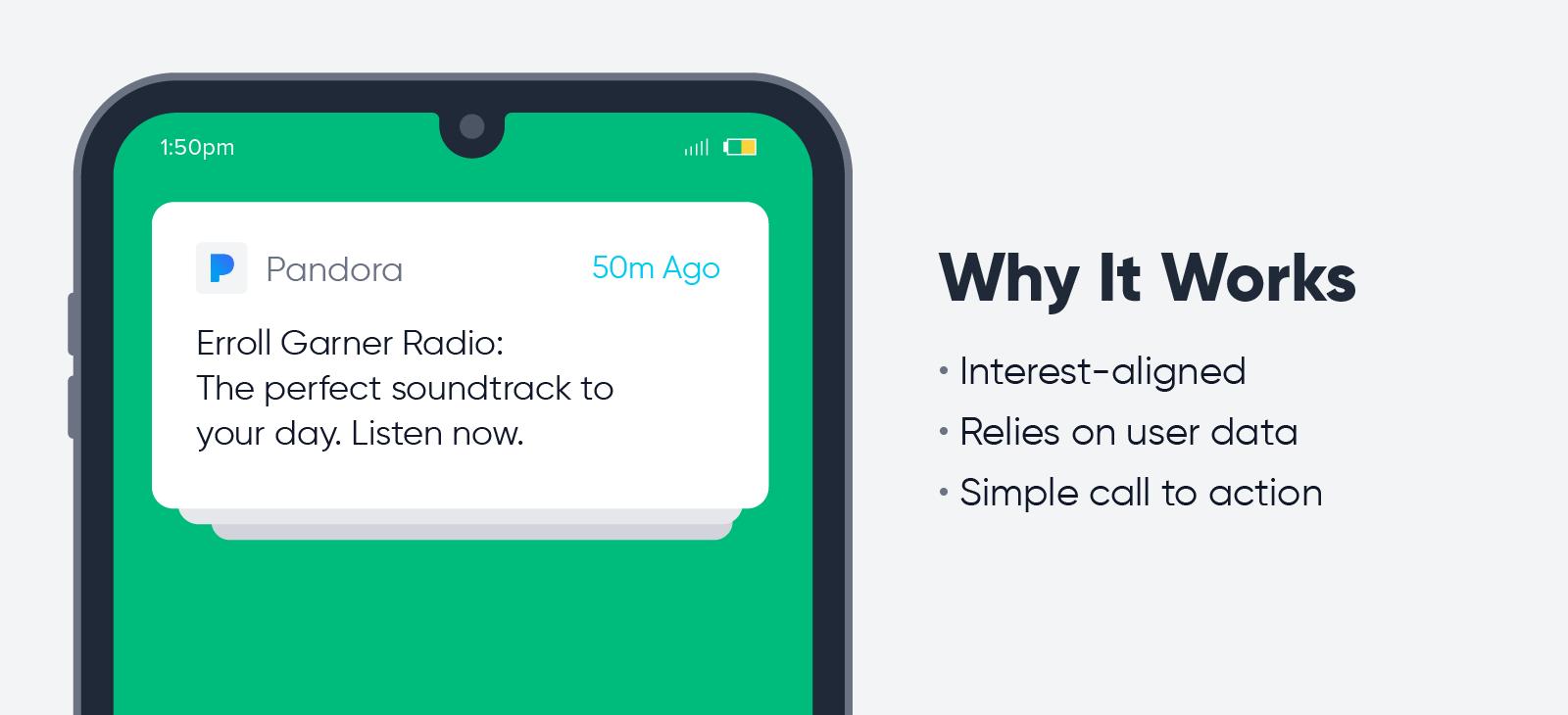 Pandora - push notification best practices