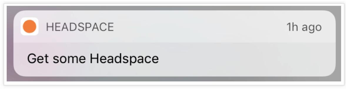 Headspace-Push-Notification