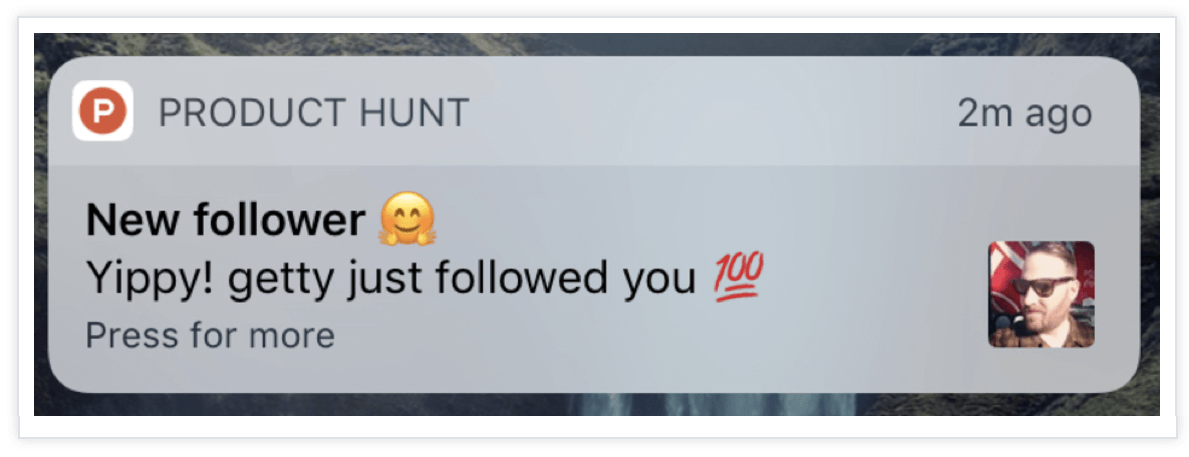 Product-Hunt-Push-Notification