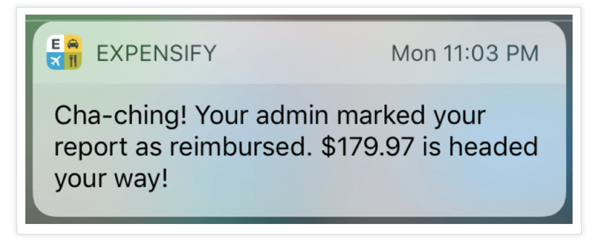 Expensify-Push-Notification