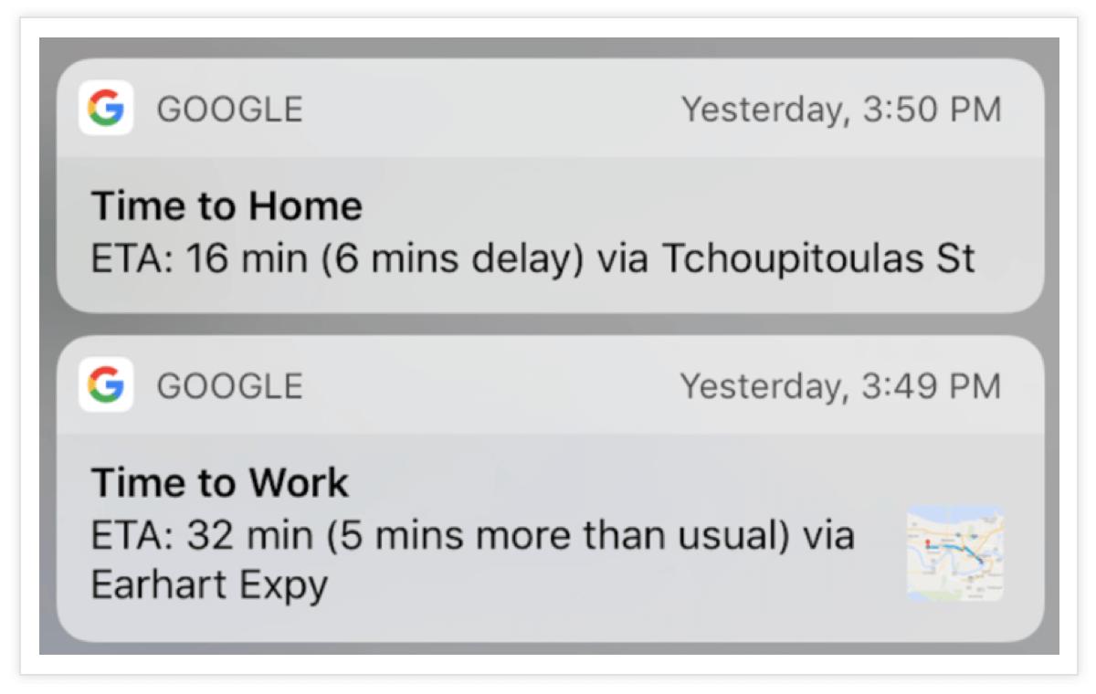 Google-Maps-Push-Notification