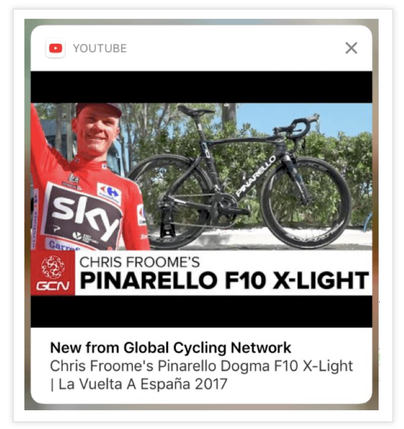 YouTube-Push-Notification