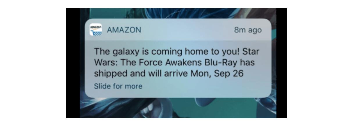 Amazon push