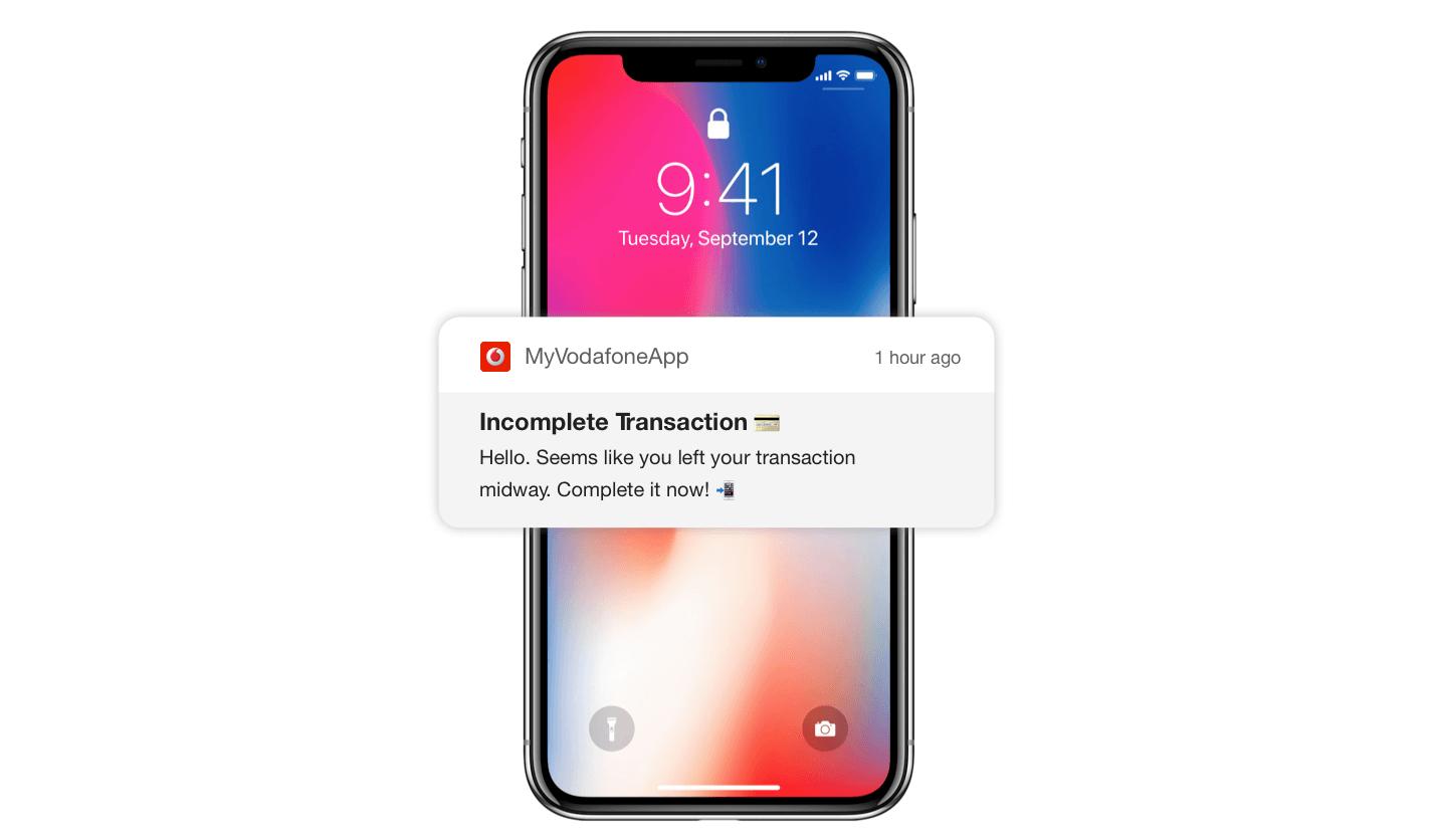 Recapture Incomplete Transactions