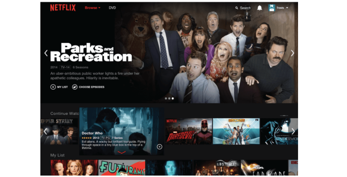 Netflix re-designed their apps to perform consistently across every device and experience
