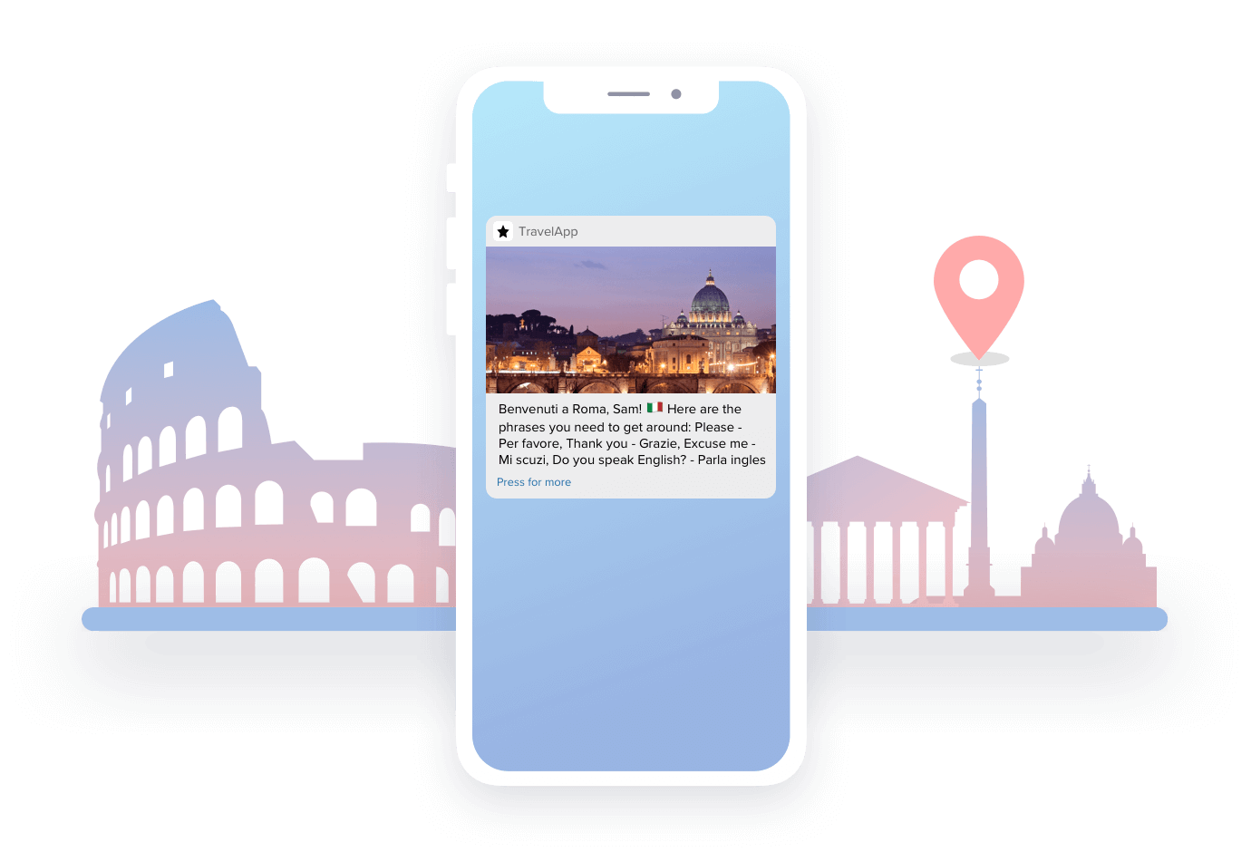 Trigger Real-Time Messages Based on Last-Known Location