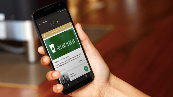 Starbucks mobile app is one part of their omnichannel success.
