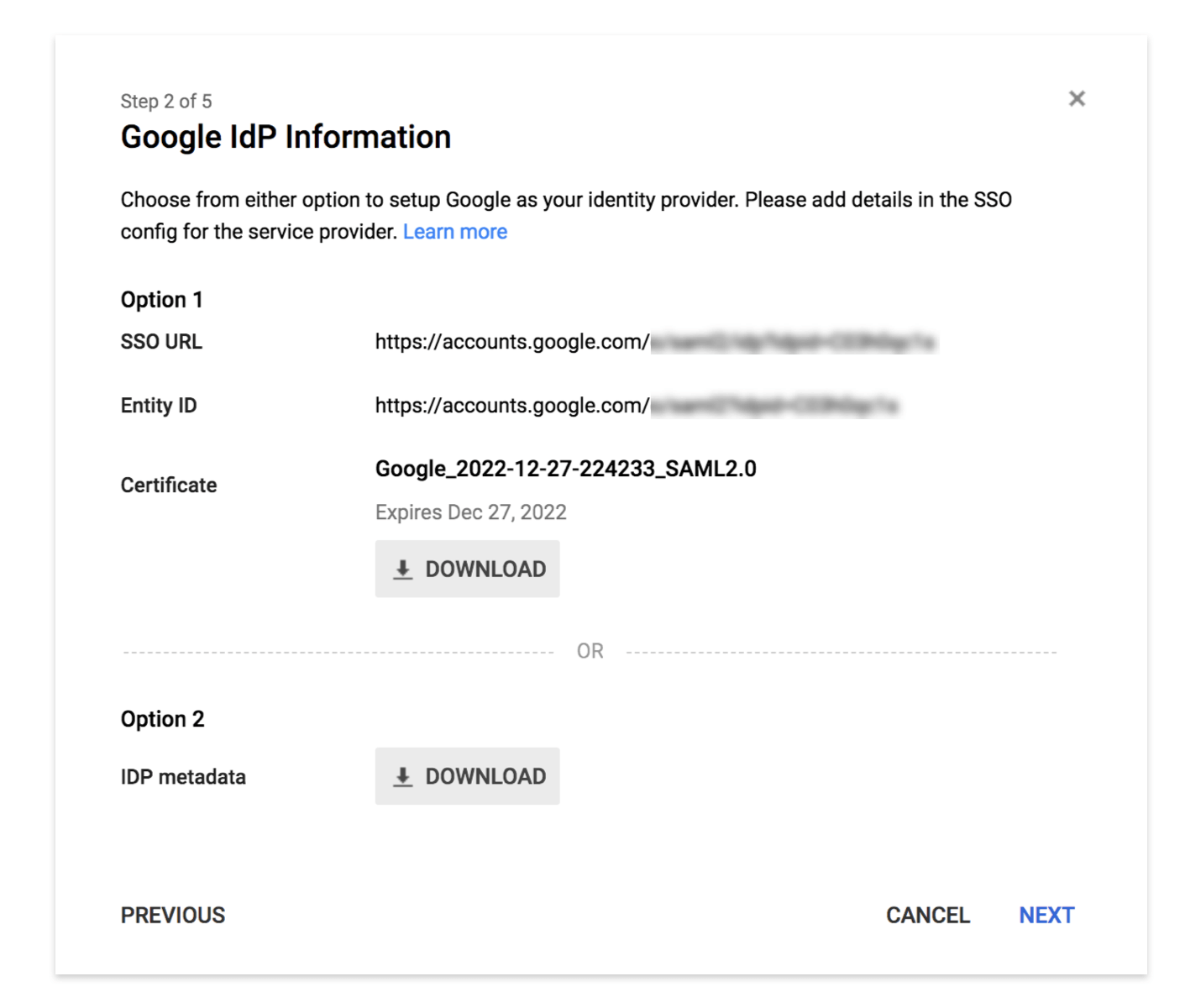 SAML SSO Authentication for Splunk with G Suite | CleverTap