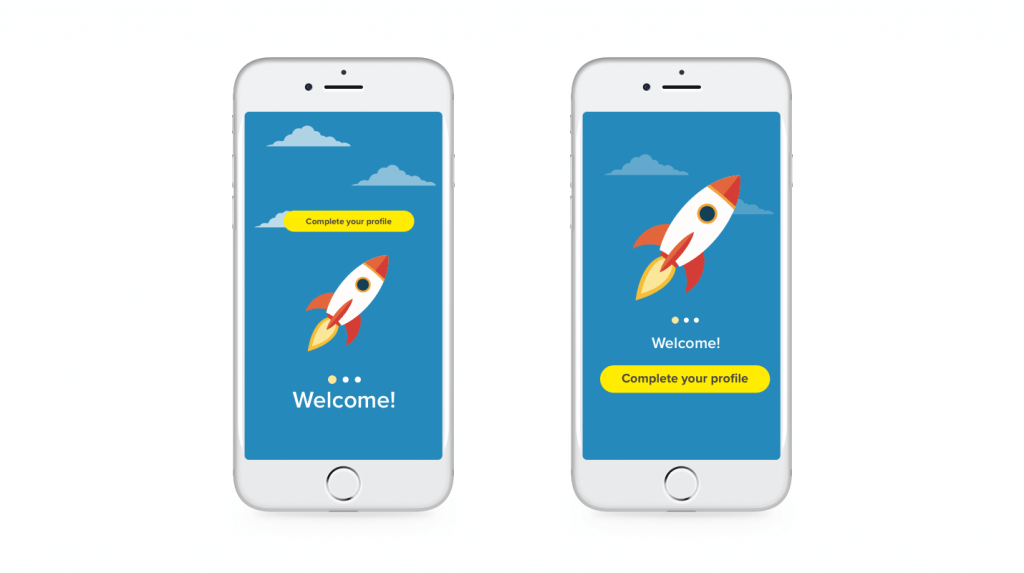 A/B Testing for User Engagement - test your onboarding flow