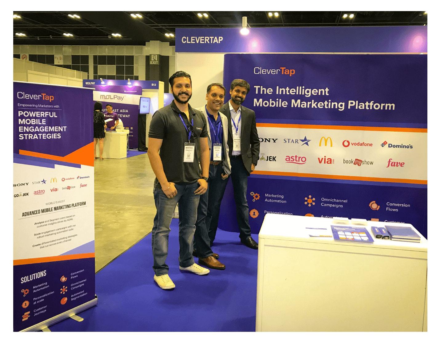 CleverTap Booth Pic - 2