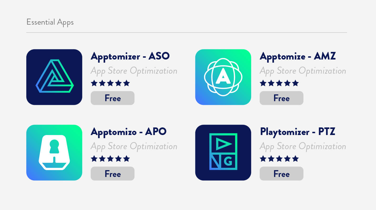 app store search results ranking example with hypothetical apps