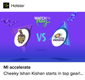 Hotstar Push Notification