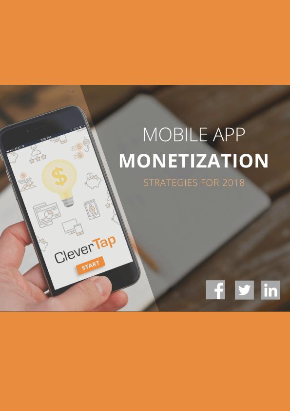 Mobile App Monetization Strategies for 2018