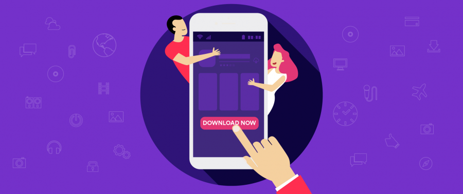 Mobile App Landing Page: Designed to Drive Downloads