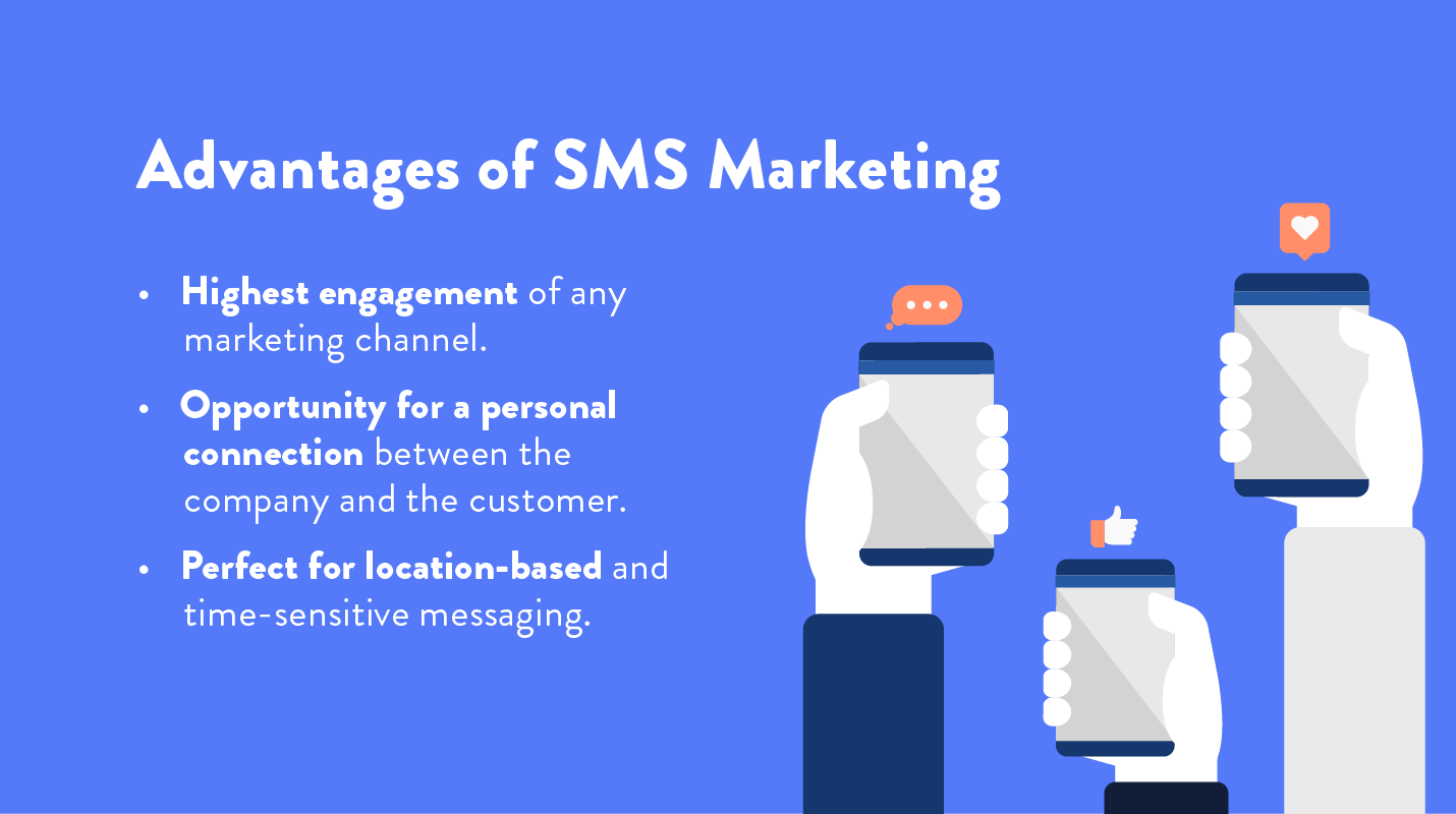 sms marketing advantages