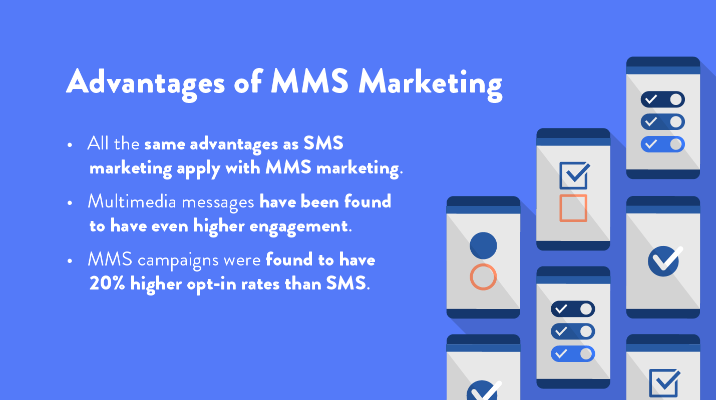list of advantages of mms marketing