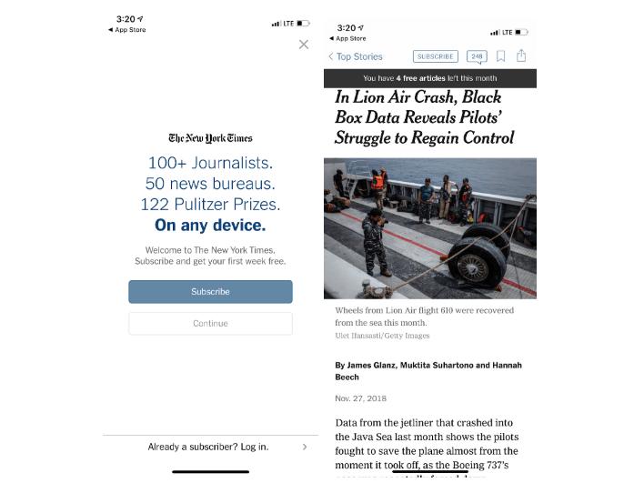 NYT App
