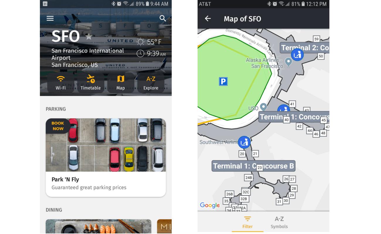 UX design examples: Flio app
