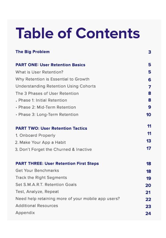 user retention guide