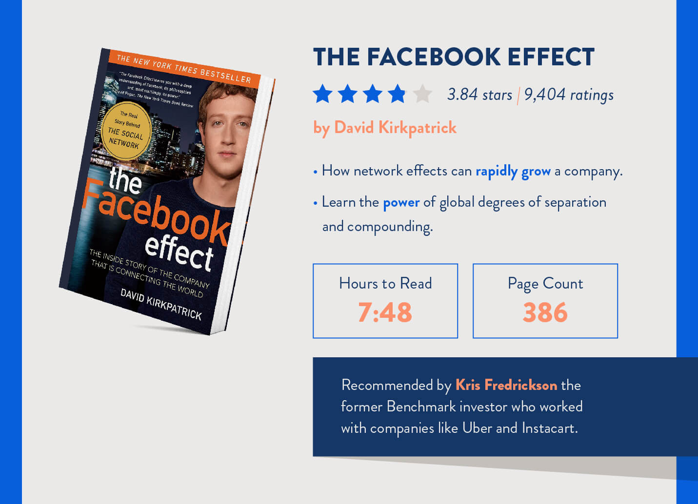 the facebook effect book mobile marketers should read with time it takes and page counts