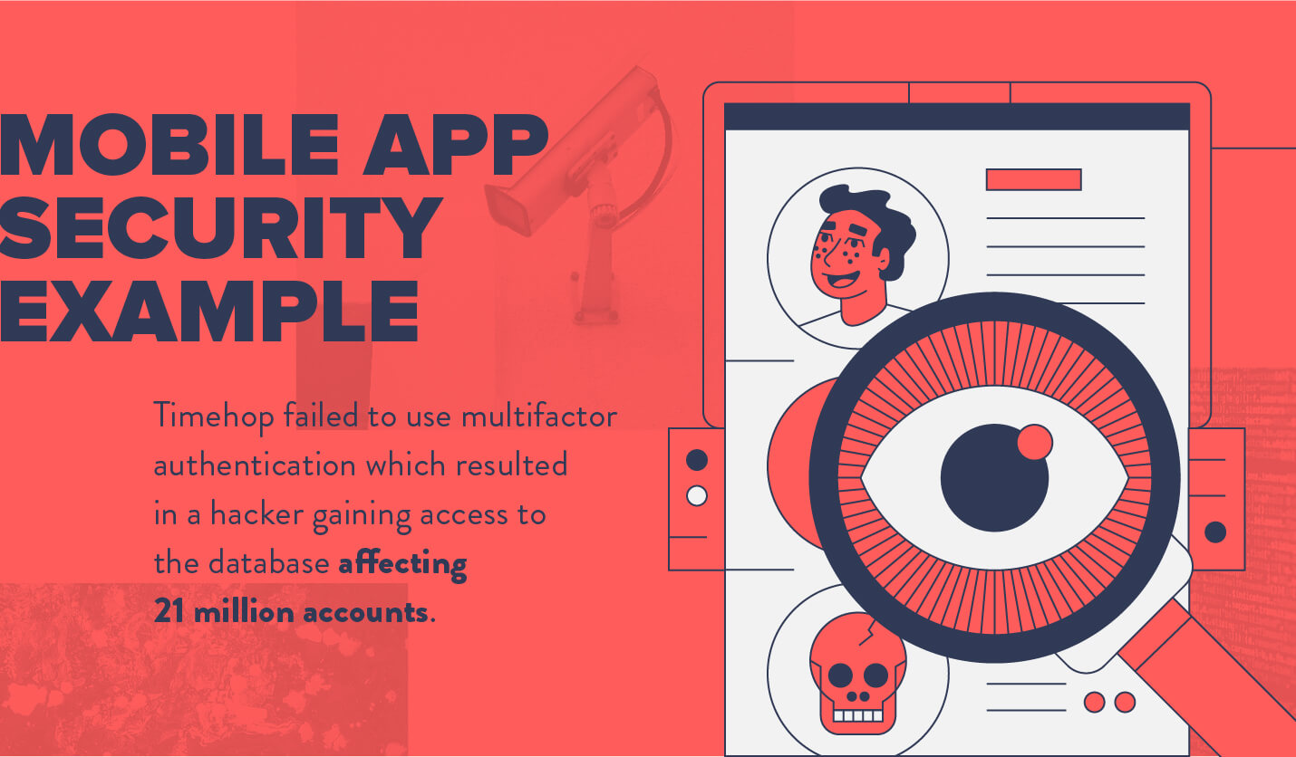 mobile app security vulnerability example from timehop breach