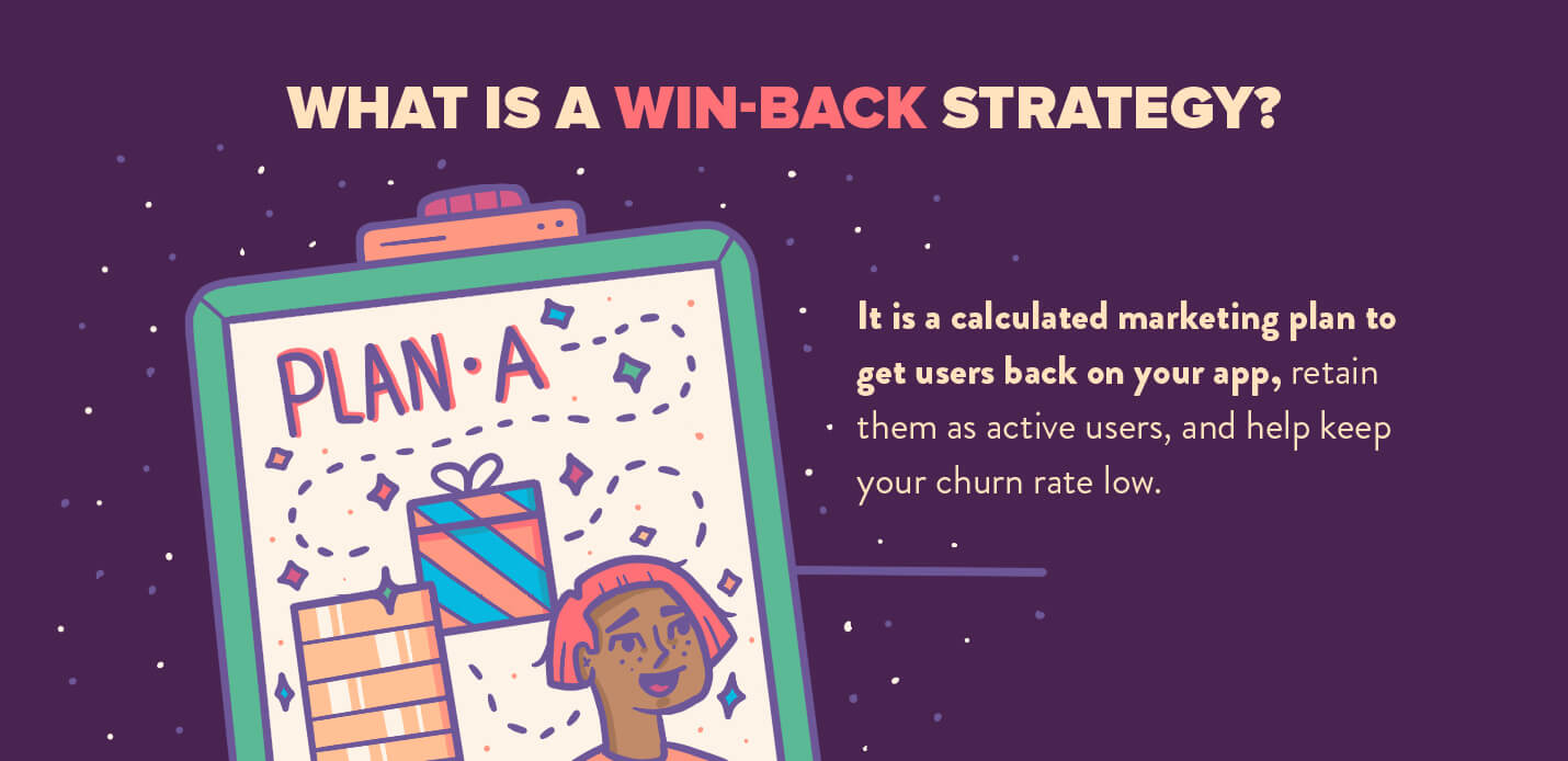 what is a win-back strategy definition