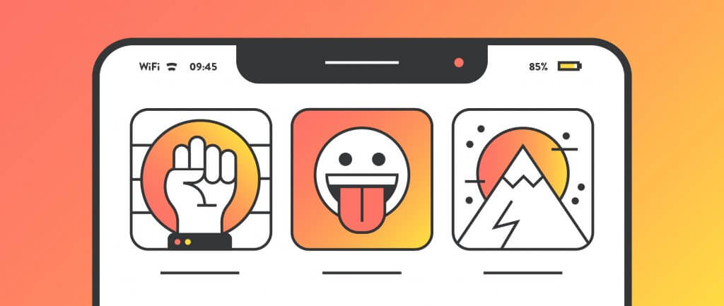 App Icons Designed For Mobile Magnetism