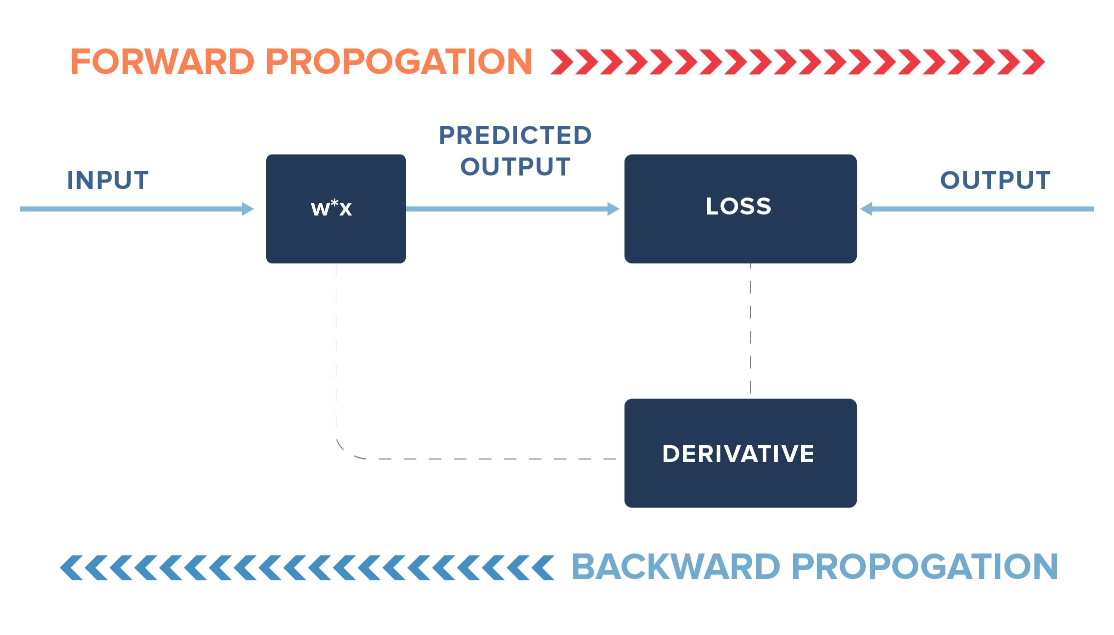 Forward Backward Propogation