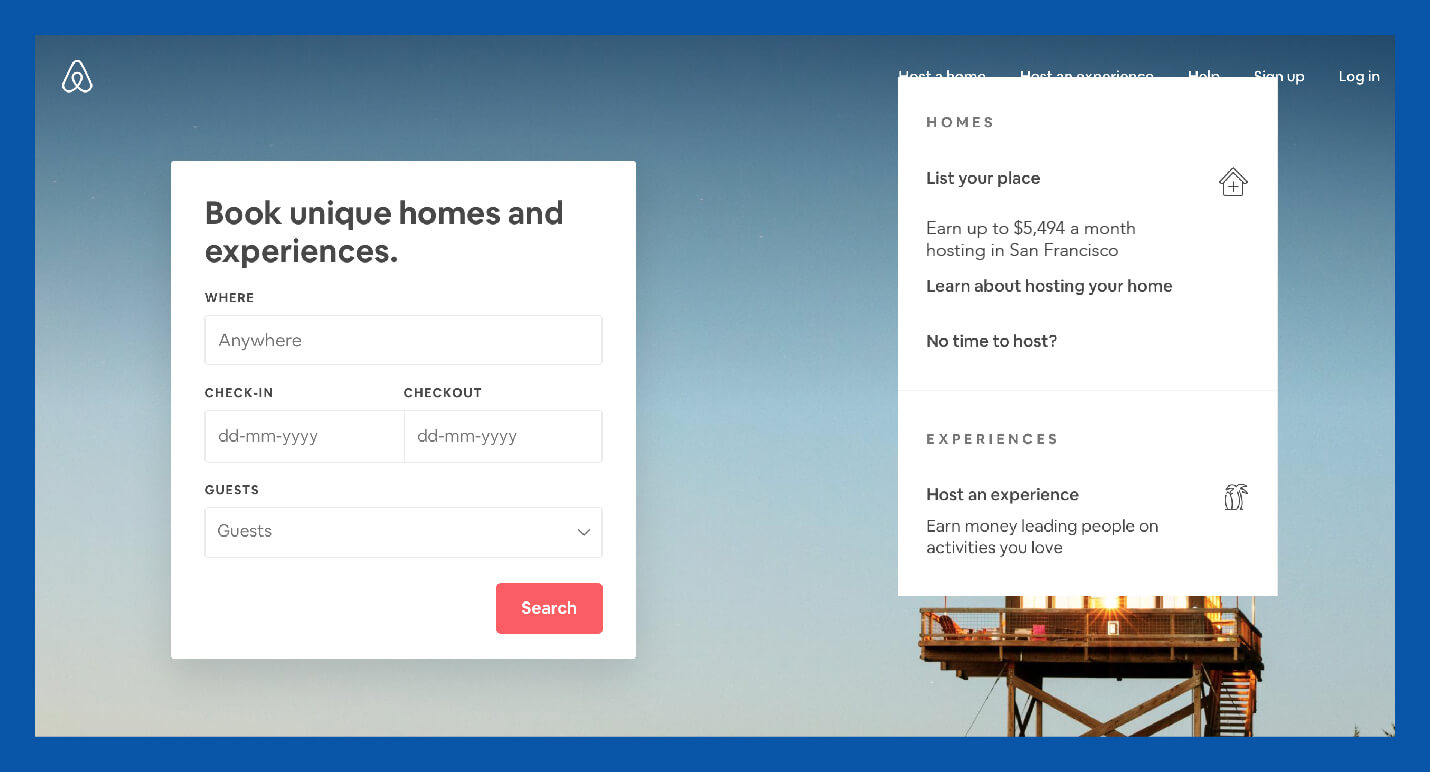 airbnb value proposition example for guests and host