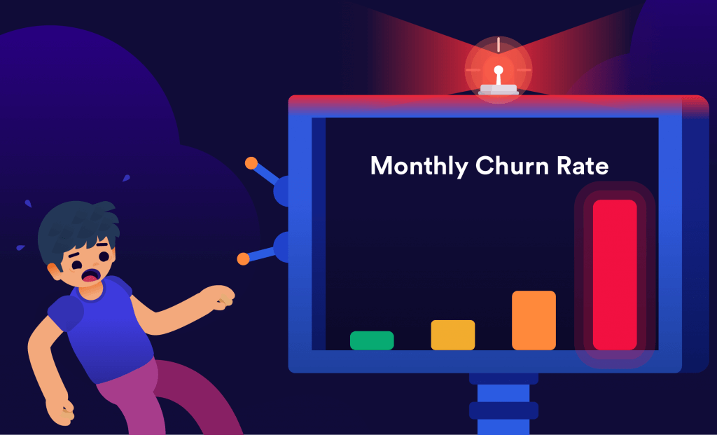 Churn analysis - can you predict your monthly churn rate?