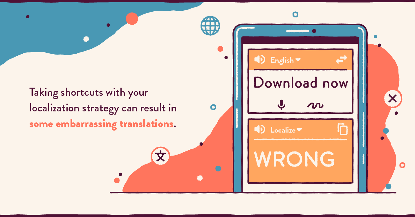 Don't make translation mistakes when using mobile translators for app localization