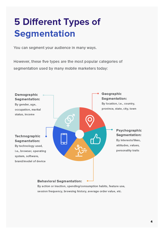 user segmentation guide