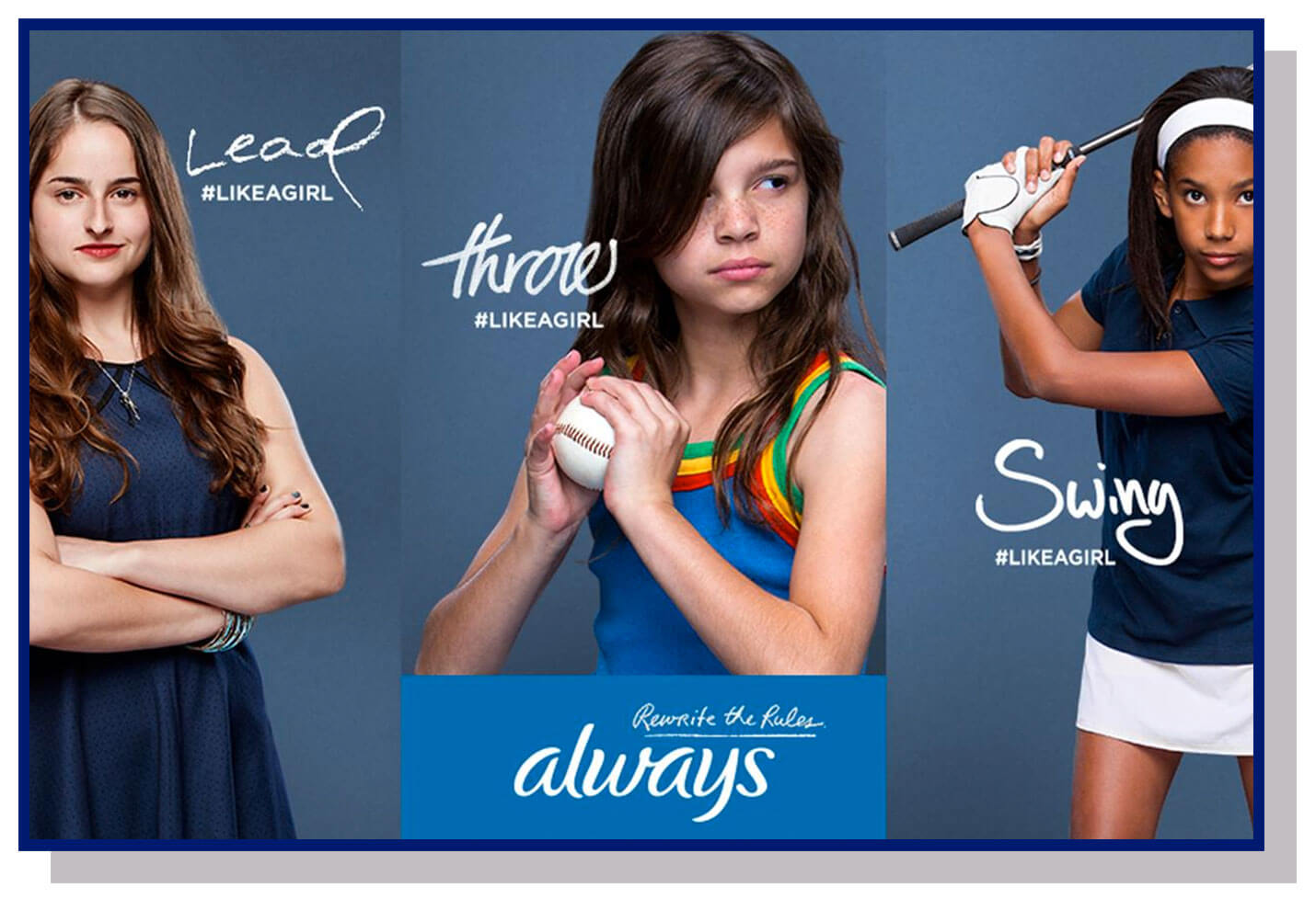 always like a girl campaign for emotional branding