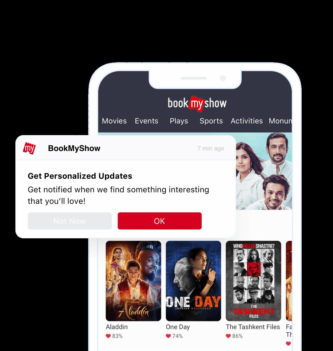 BookMyShow App