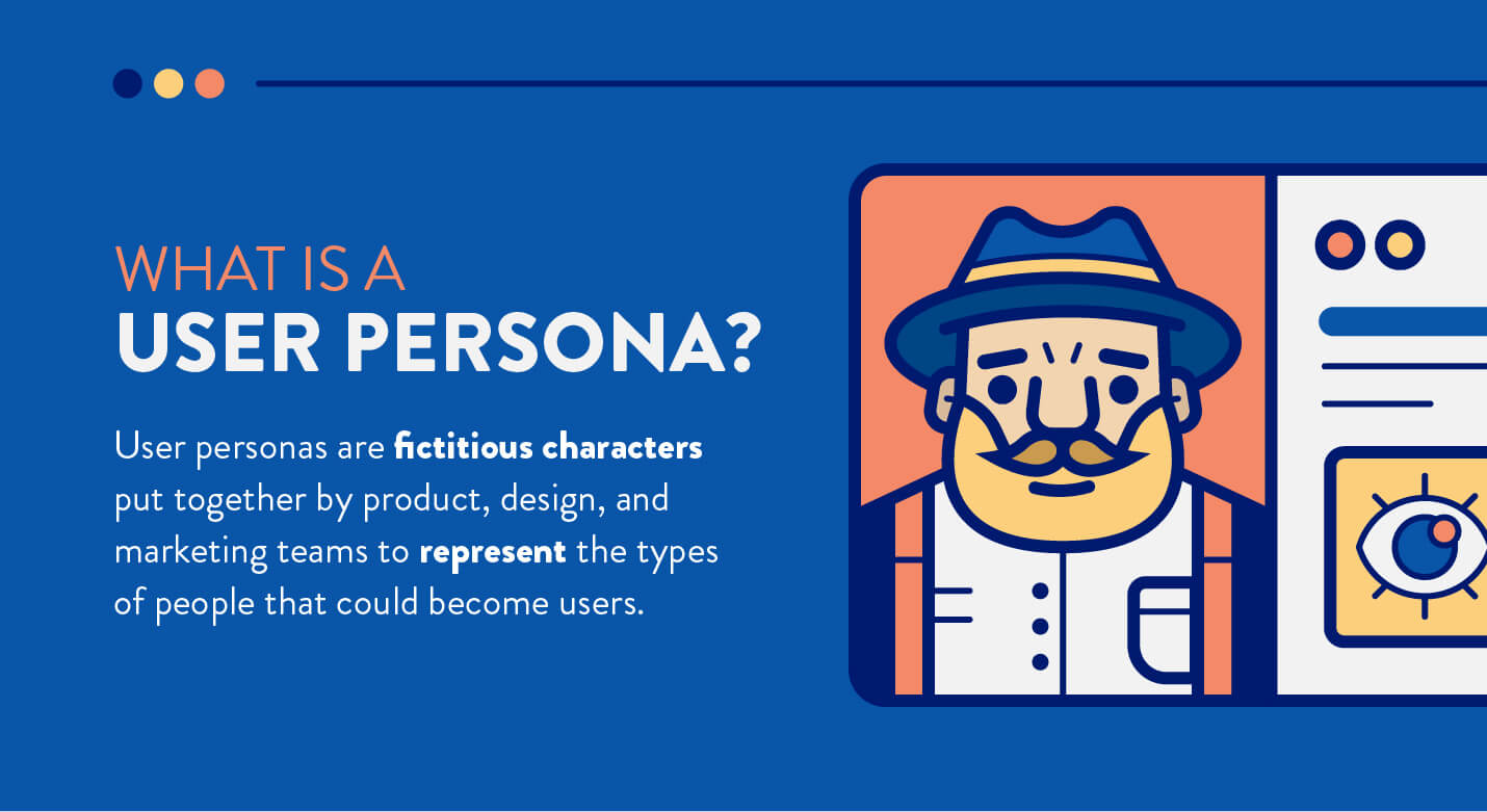what are user personas with definition and example image