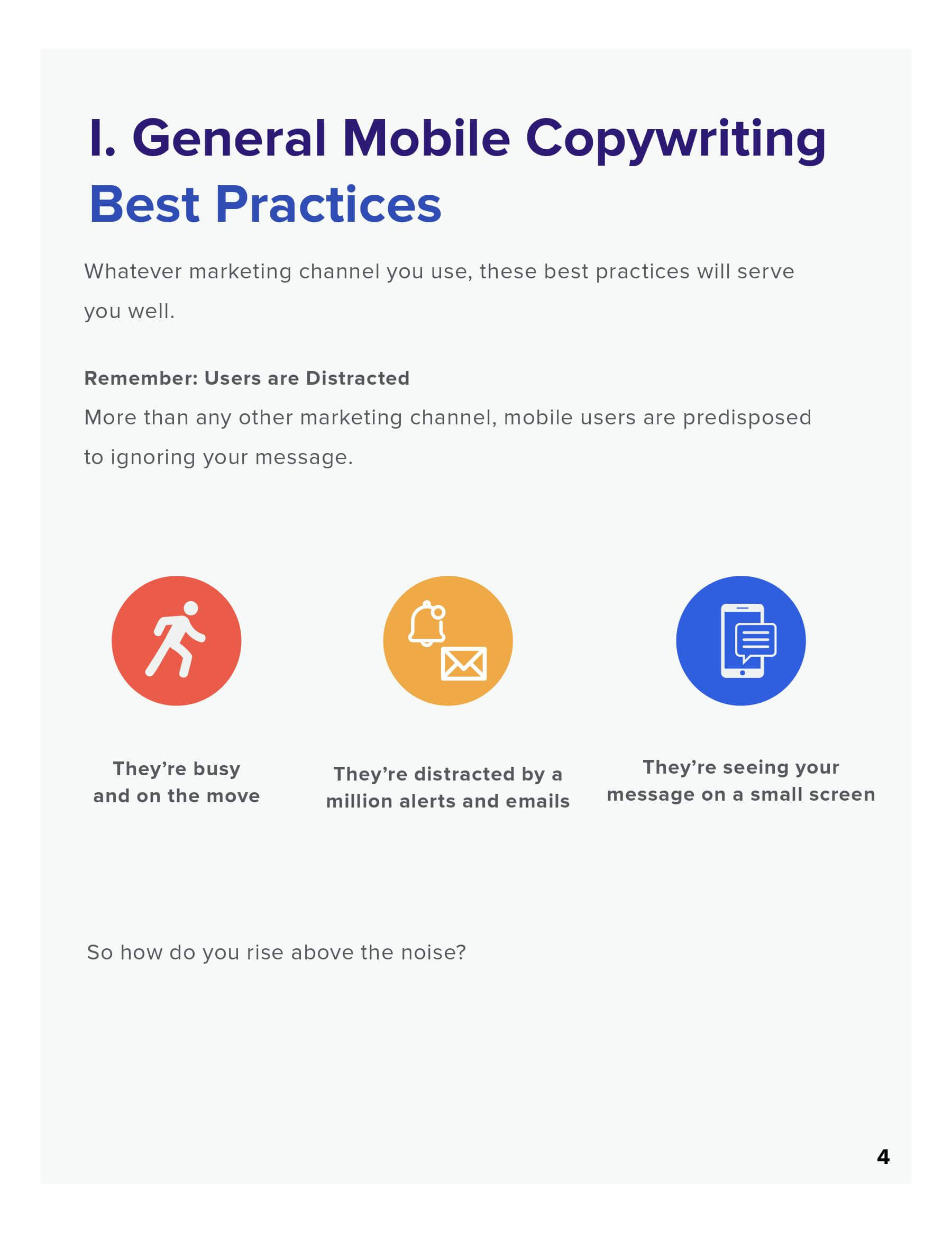 mobile copywriting guide