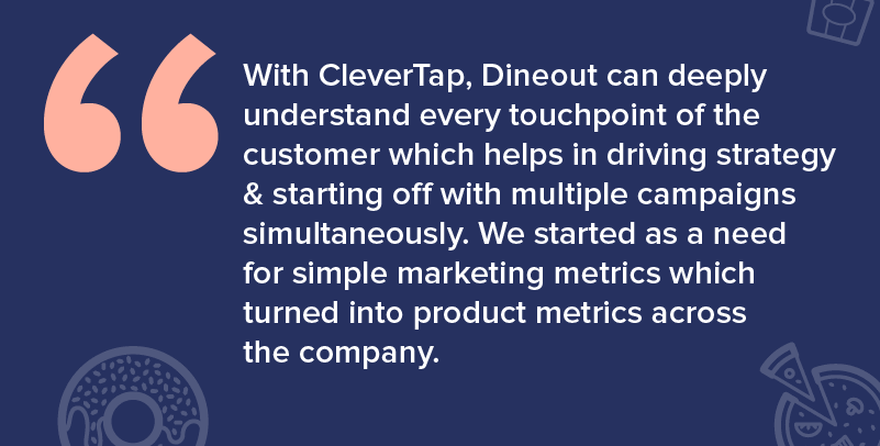 How cleverTap helped Dineout