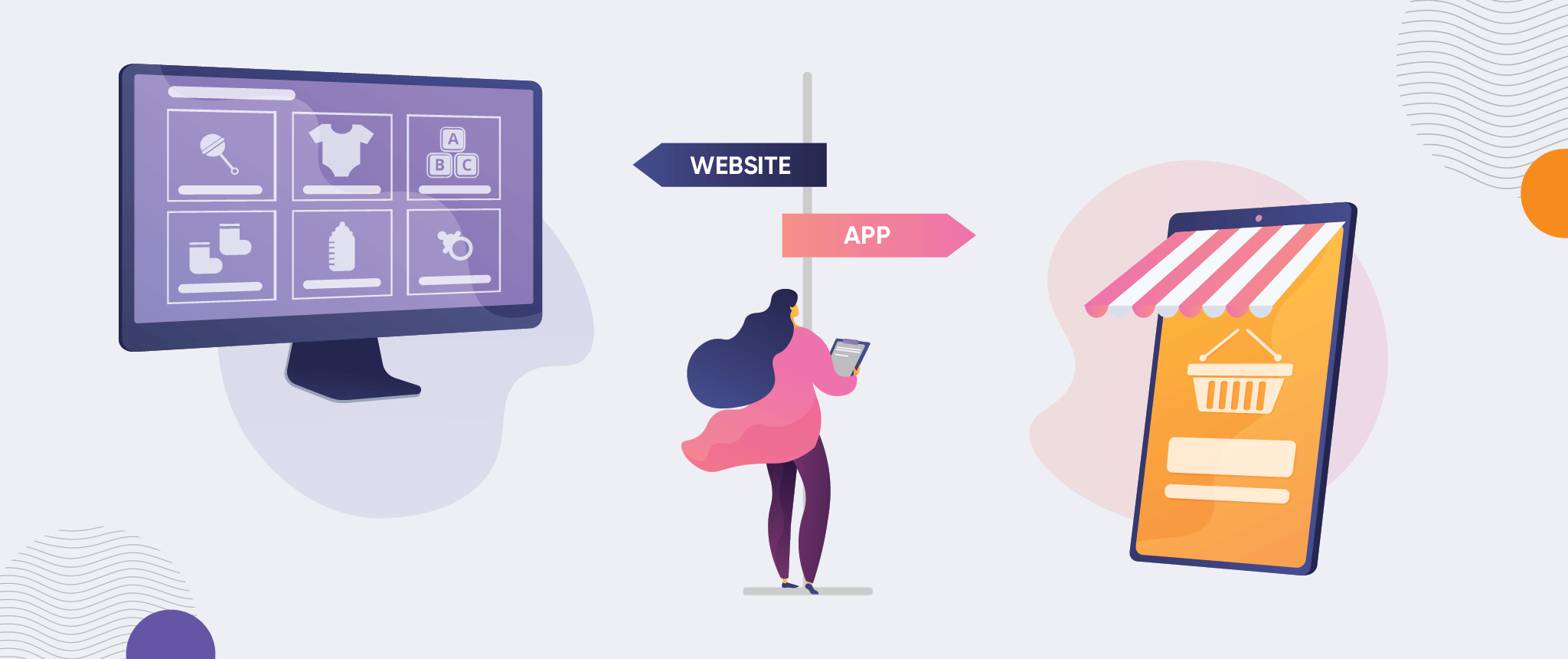 App vs Website: Which Is Right for My Business? [Infographic]