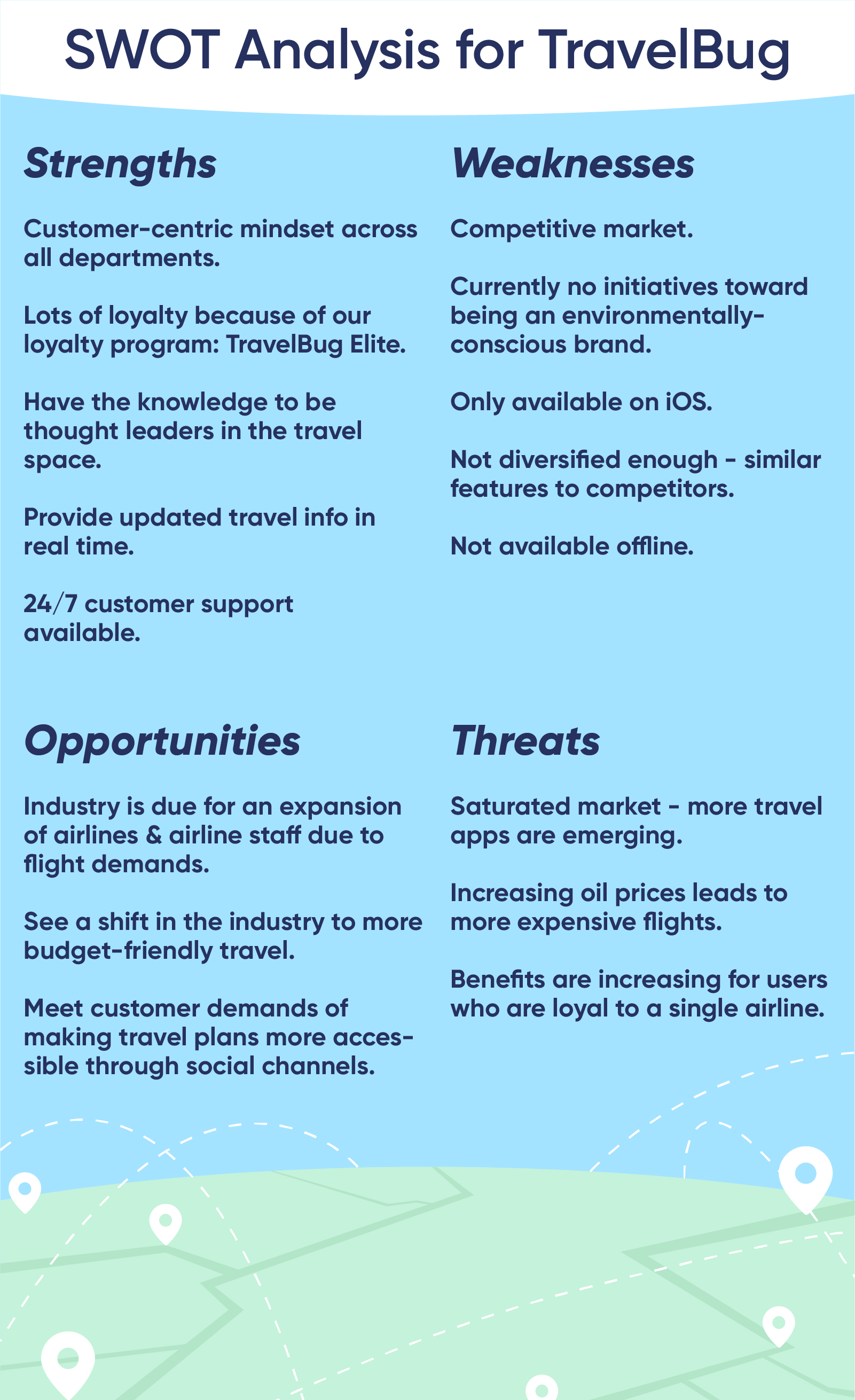 swot analysis  identifying opportunities and threats