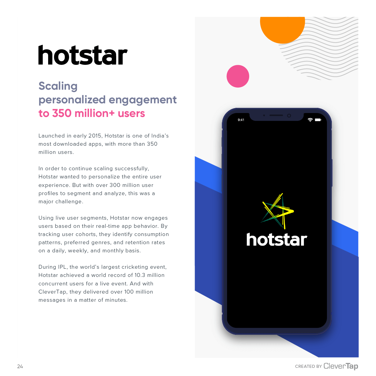 Hotstar Case Study