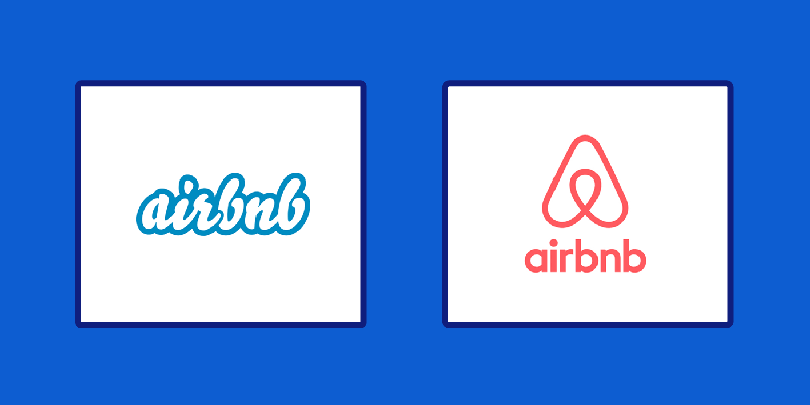 Brand Identity - the evolution of the Airbnb logo