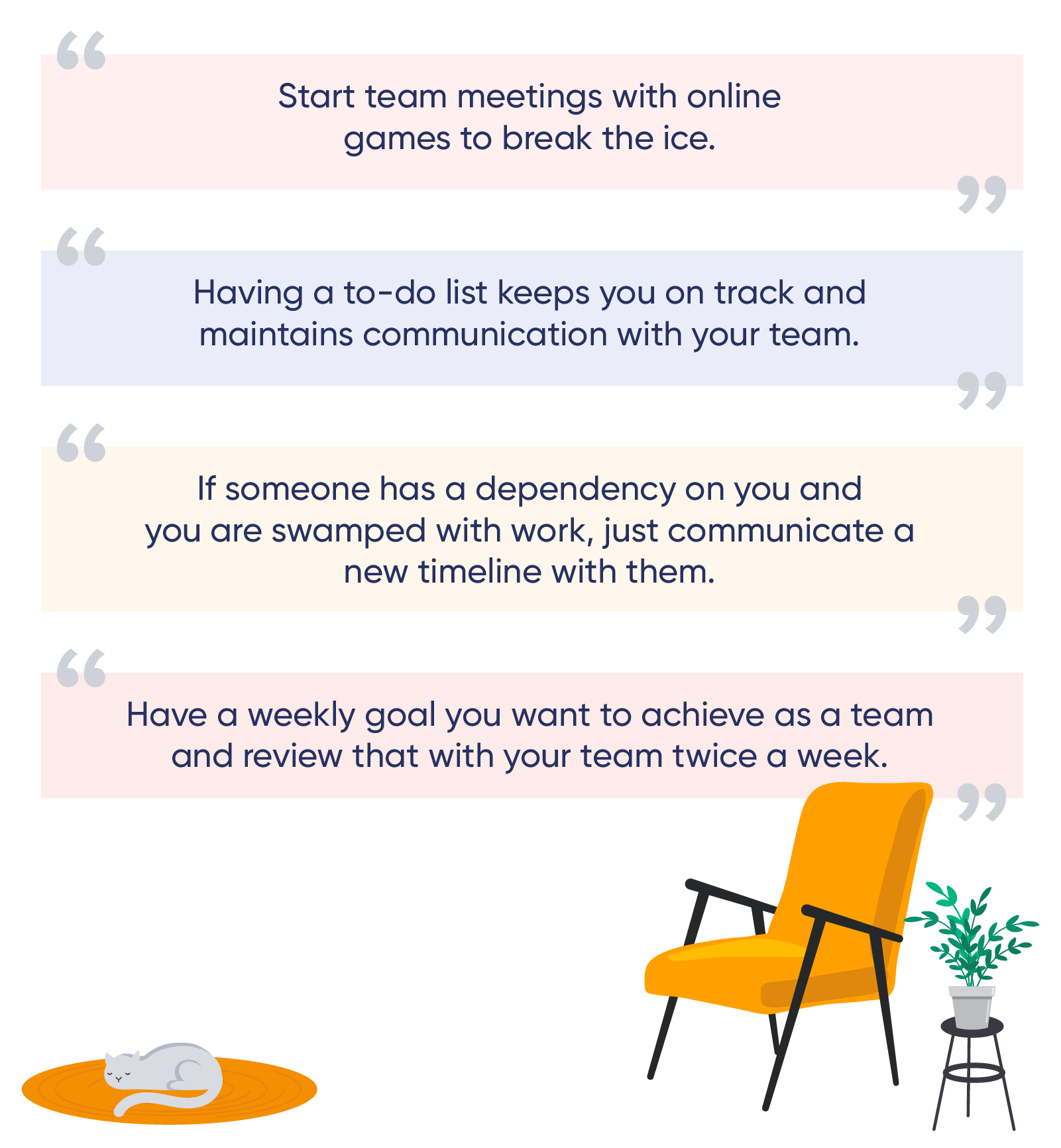 work from home pointers