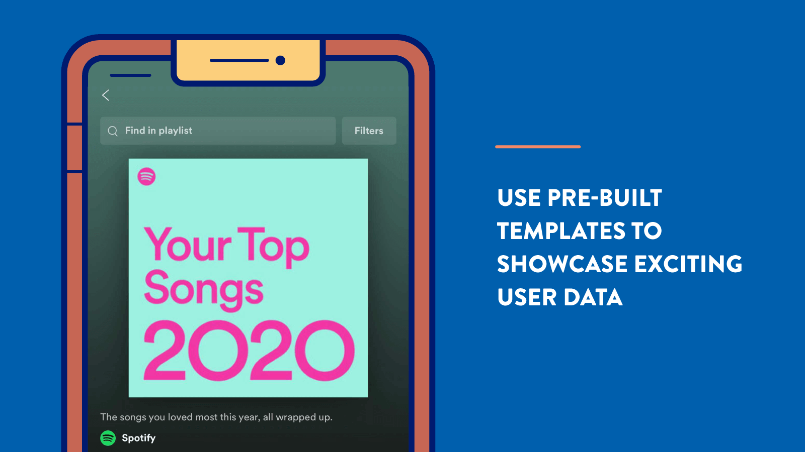 Personalization tip: Use Pre-Built Templates to Showcase Exciting User Data
