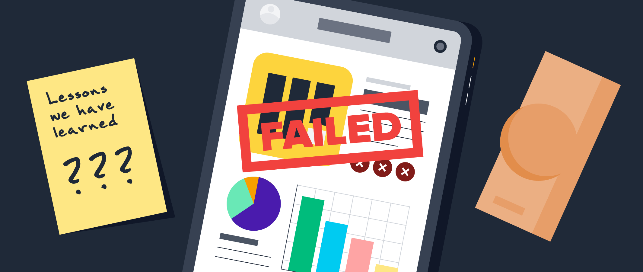 11 Mobile Apps That Failed and How To Learn From Their Mistakes